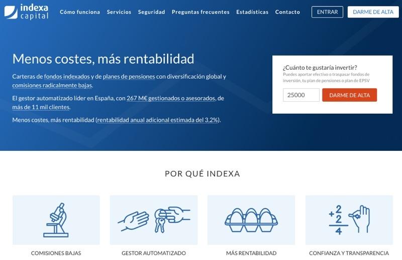 Análisis de Indexa Capital